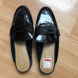 BRAND NEW patent leather loafers
